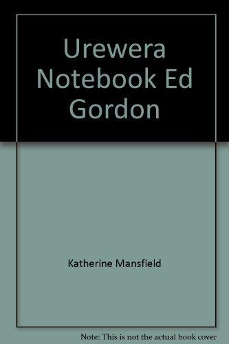9780195580341: Urewera Notebook Ed Gordon