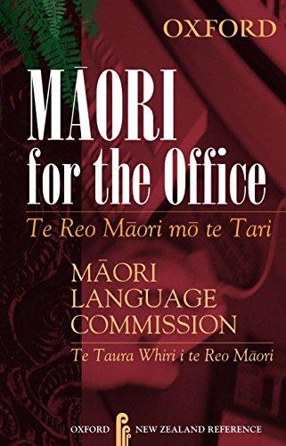 9780195583779: Maori for the Office: Te Reo Maori mo te Tari (Maori and English Edition)