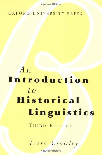 9780195583786: An Introduction to Historical Linguistics