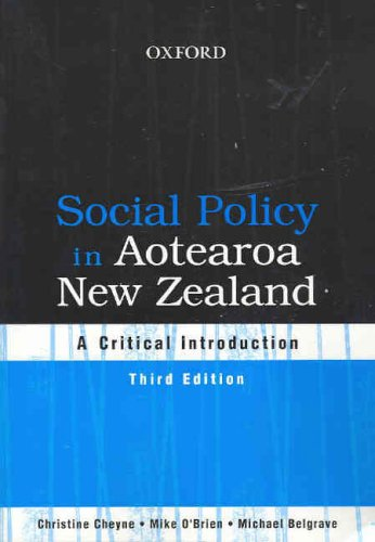 9780195584752: Social Policy in Aotearoa New Zealand: A Critical Introduction