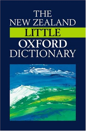 9780195584769: The New Zealand Oxford Little Dictionary