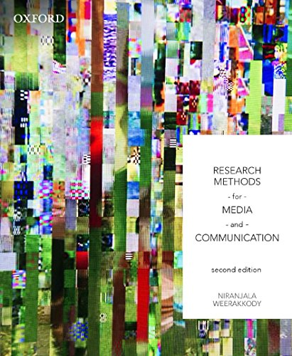 9780195588033: Research Methods for Media and Communication