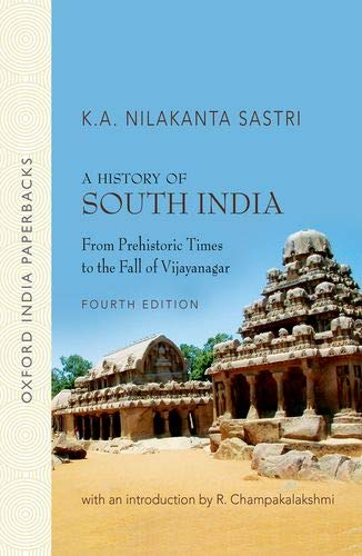 9780195606867: A History of South India: From Prehistoric Times to the Fall of Vijayanagar