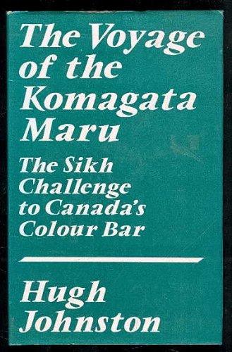 9780195611649: The Voyage of the Komagata Maru