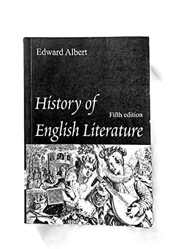 9780195612240: History of English Literature
