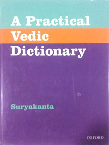 9780195612981: A Practical Vedic Dictionary