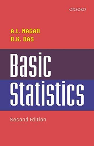 9780195615548: Basic Statistics (College & University Level Texts)