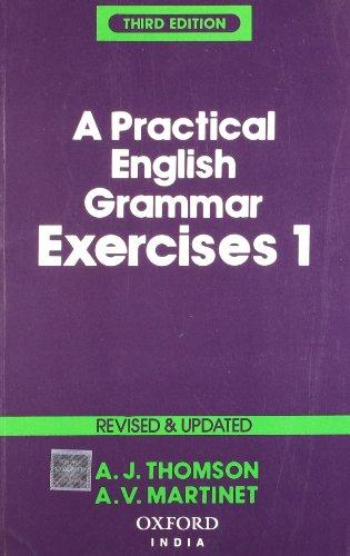 9780195620542: Practical English Grammar Exercises 1