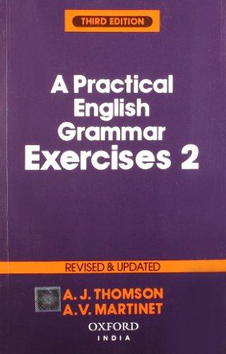 9780195620559: Practical English Grammar Exercises 2