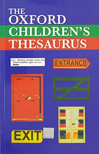 9780195621815: OXFORD CHILDREN'S THESAURUS
