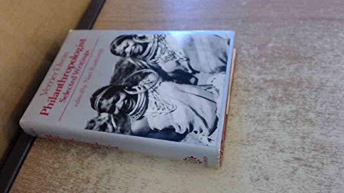 9780195622935: Verrier Elwin: Philanthropologist: Selected Writings