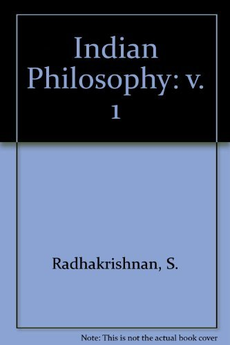 9780195623482: Indian Philosophy: v. 1