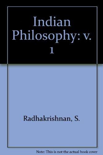 9780195623482: Indian Philosophy: v. 1