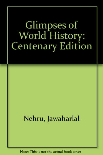 9780195623963: Glimpses of World History: Centenary edition