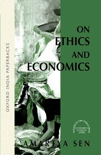 9780195627619: On Ethics and Economics