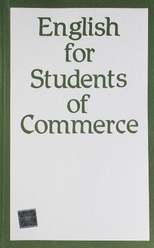 9780195628753: English for Students of Commerce (University of Delhi)