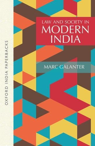 9780195632057: Law and Society in Modern India (Oxford India Paperbacks)