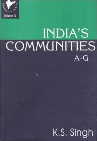 9780195633542: People of India: All Communities A-G v. 4: National Series (People of India National Series)