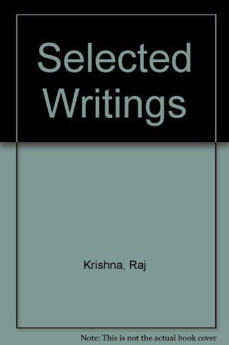 Selected Writings: The late Raj