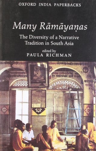 9780195635188: Many Ramayanas : The Diversity Of A Narrative Tradition In South Asia