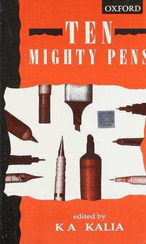 9780195636420: Ten Mighty Pens