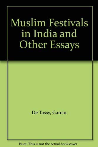 9780195636772: Muslim Festivals in India and Other Essays