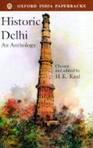 Historic Delhi: An Anthology