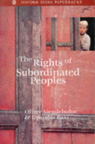 9780195639285: The Rights of Subordinated Peoples
