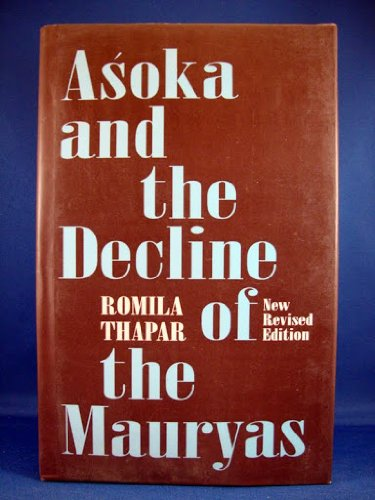 9780195639322: Asoka and the Decline of the Mauryas: With a New Afterword, Bibliography, and Index