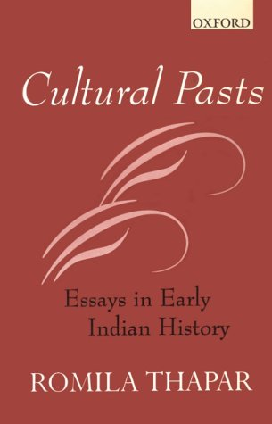 9780195640502: Cultural Pasts: Essays In early Indian history