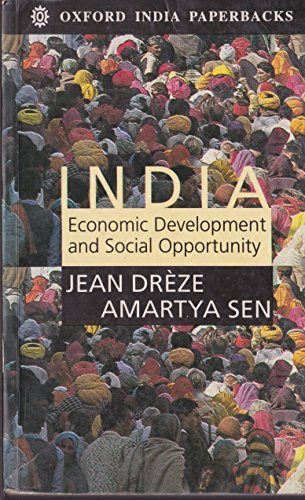 9780195640823: India: Economic Development and Social Opportunity