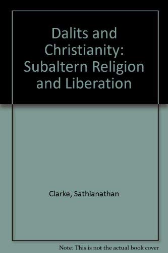 9780195641196: Dalits and Christianity