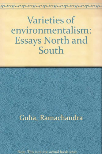 9780195643176: Varieties of environmentalism: Essays North and South