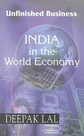 9780195645484: India In the World Economy