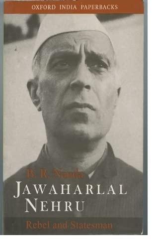 9780195645866: Jawaharlal Nehru: Rebel and Statesman (Oxford India Paperbacks)