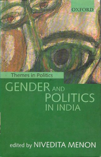 9780195646412: Gender and Politics in India (Themes in Politics)