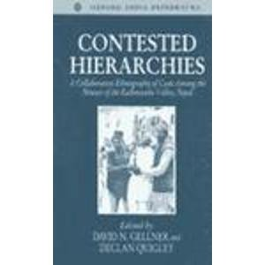9780195648485: Contested Hierarchies: A Collaborative Ethnography of Caste among the Newars of the Kathmandu Valley, Nepal (Oxford Studies in Social and Cultural Anthropology)