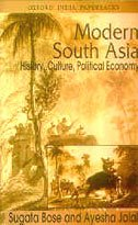 9780195648911: Modern South Asia History, Culture, Political Economy