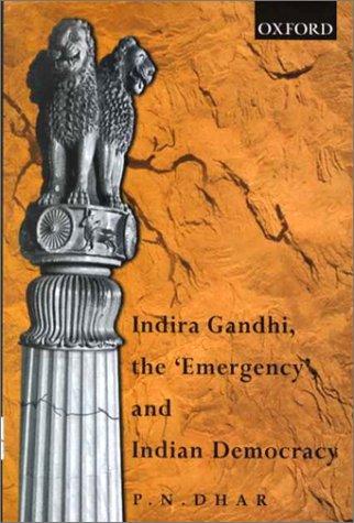 9780195648997: Indira Gandhi, the