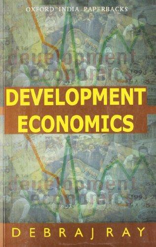 9780195649000: Development Economics (Oxford India paperbacks) [Taschenbuch] by
