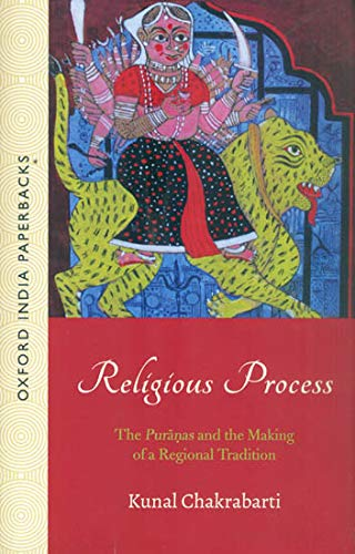 9780195649895: Religious Processes: The Puranas and the Making of a Regional Tradition