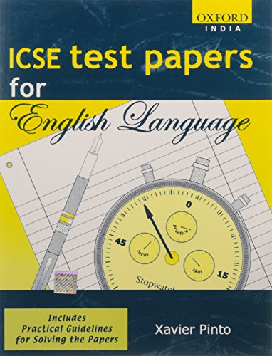 9780195650433: Icse Test Papers For English Language