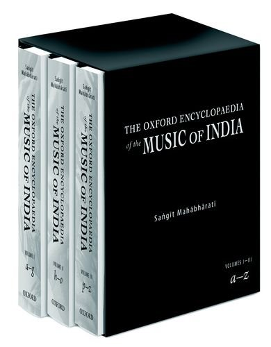 9780195650983: The Oxford Encyclopedia of the Music of India: The Oxford Encyclopedia of the Music of India: Three-Volume Set
