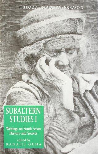 Subaltern Studies: Writings on South Asian History and Society (10 Volume Set): Subaltern Studies ...