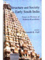 9780195651508: Structure and Society in Early South India: Essays in Honour of Noboru Karashima