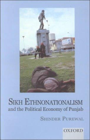 9780195651805: Sikh Ethnonationalism and the Political Economy of Punjab