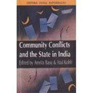 9780195652147: Community Conflicts and the State in India