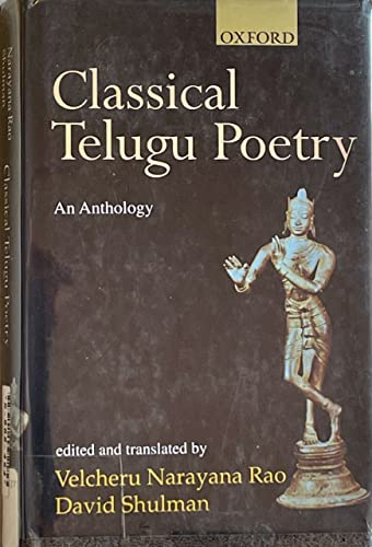 9780195653007: Classical Telugu poetry: An anthology