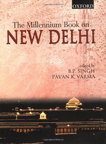 9780195654455: The Millennium Book on New Delhi