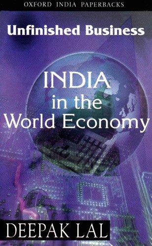9780195655018: India in the World Economy